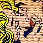 Kiss V 1964  Limited Edition Print - Roy Lichtenstein