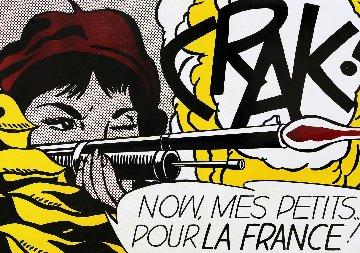 Crak!  Castelli Poster 1963  Limited Edition Print - Roy Lichtenstein