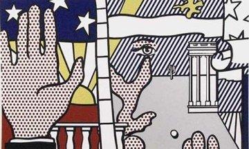 Inaugural Print 1977 Limited Edition Print - Roy Lichtenstein