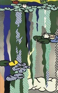 Water Lilies With Cloud 1992 Limited Edition Print - Roy Lichtenstein