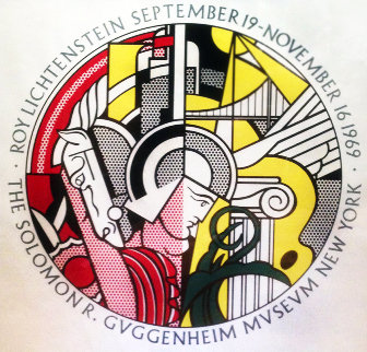 Solomon R. Guggenheim Museum  Poster 1969 Other - Roy Lichtenstein