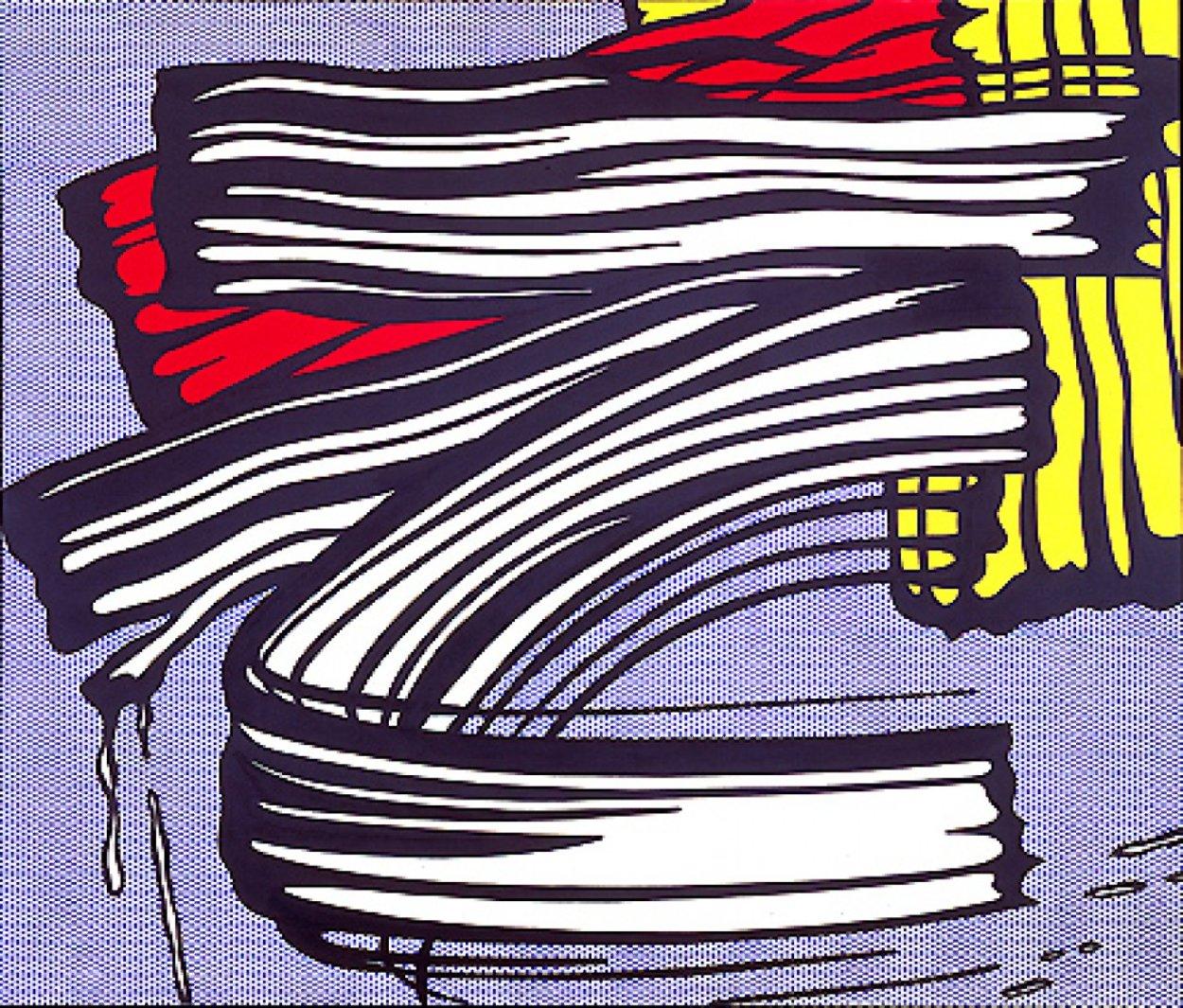 Little Big Painting  1965 Super Huge Limited Edition Print by Roy Lichtenstein