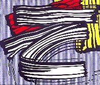 Little Big Painting  1965 Super Huge Limited Edition Print by Roy Lichtenstein - 0
