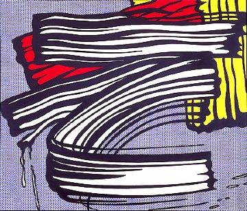 Little Big Painting  1965 Huge Limited Edition Print - Roy Lichtenstein