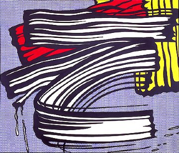 Little Big Painting  1965 Super Huge Limited Edition Print - Roy Lichtenstein