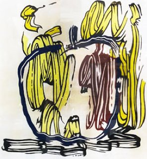 Untitled Lithograph 1983 Limited Edition Print - Roy Lichtenstein