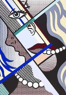 Modern Art I 1996 Huge Limited Edition Print - Roy Lichtenstein