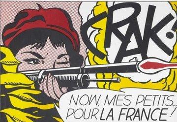 Crak Poster 1960 Other - Roy Lichtenstein