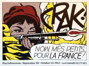 Crak! 1963 Castelli Poster Limited Edition Print by Roy Lichtenstein