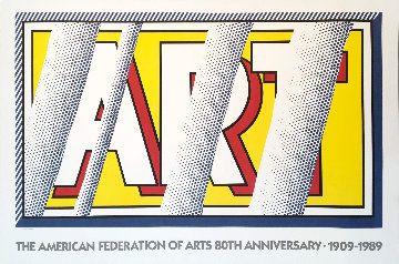 Reflections: Art 1989 Limited Edition Print by Roy Lichtenstein
