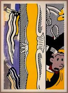 Two Paintings Dagwood 1984 Limited Edition Print - Roy Lichtenstein
