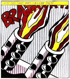 That My Ship Was Below Them  Limited Edition Print - Roy Lichtenstein