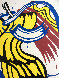 Apple Poster 1981 Hand Signed Limited Edition Print by Roy Lichtenstein - 5