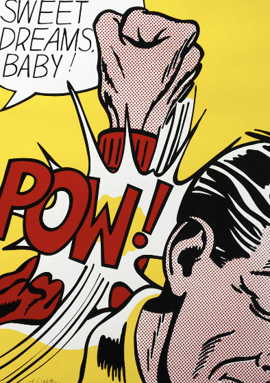 Sweet Dreams, Baby! Hand Signed Silkscreen 1982 Limited Edition Print by Roy Lichtenstein