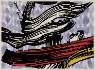 Brushstroke 1967 Limited Edition Print by Roy Lichtenstein - 1