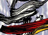Brushstroke 1967 Limited Edition Print by Roy Lichtenstein - 0