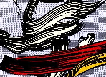 Brushstroke 1967 Limited Edition Print by Roy Lichtenstein