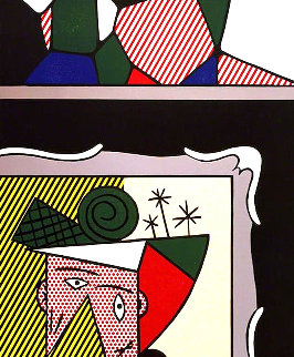 Two Paintings: Paintings Suite 1984 Limited Edition Print by Roy Lichtenstein