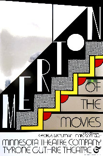 Merton of the Movies Poster AP 1968 HS  Limited Edition Print by Roy Lichtenstein