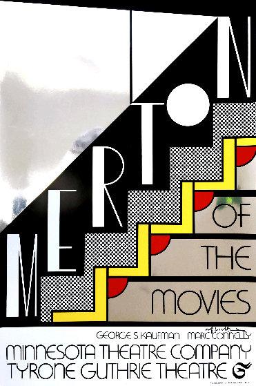 Merton of the Movies Poster AP 1968 HS  by Roy Lichtenstein