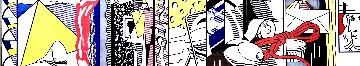 Sketch For Greene Street Mural 1983 HS  Limited Edition Print - Roy Lichtenstein
