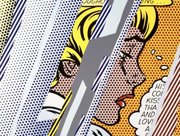 Reflections on Girl 1990 HS by Roy Lichtenstein