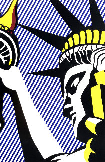 I Love Liberty 1982 HS Limited Edition Print - Roy Lichtenstein