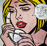 Oh, Jeff ... I Love You, Too ... But 1971 HS Limited Edition Print - Roy Lichtenstein