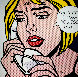 Oh, Jeff ... I Love You, Too ... But 1971 HS Limited Edition Print by Roy Lichtenstein - 0
