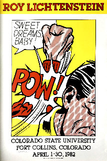 Sweet Dreams, Baby! Poster 1982 HS Limited Edition Print by Roy Lichtenstein