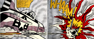 'Whaam!' Diptych From the Tate Gallery, London 1984 HS Limited Edition Print - Roy Lichtenstein