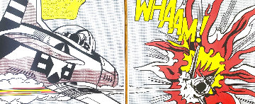 Whaam!  Diptych 1986 Limited Edition Print - Roy Lichtenstein