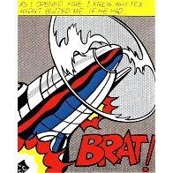 As I Opened Fire  (Tryptych)  1968 Limited Edition Print by Roy Lichtenstein - 1