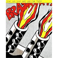 As I Opened Fire  (Tryptych)  1968 Limited Edition Print by Roy Lichtenstein - 3