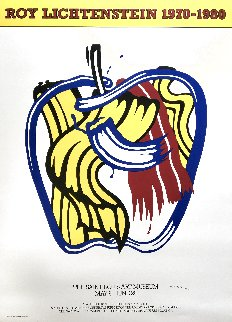 Apple  Exhibition Poster 1990 HS Limited Edition Print - Roy Lichtenstein