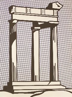 Temple Poster 1964 Limited Edition Print - Roy Lichtenstein