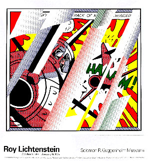 Reflections: Whaam! 1993  Limited Edition Print - Roy Lichtenstein