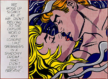 We Rose Up Slowly 1986 Limited Edition Print - Roy Lichtenstein