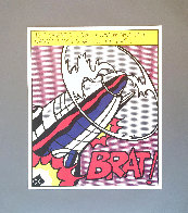 As I Opened Fire 1983 Triptych  Limited Edition Print by Roy Lichtenstein - 1
