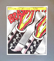 As I Opened Fire 1983 Triptych  Limited Edition Print by Roy Lichtenstein - 7