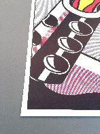 As I Opened Fire 1983 Triptych  Limited Edition Print by Roy Lichtenstein - 8