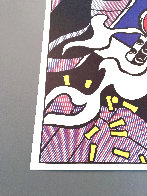 As I Opened Fire 1983 Triptych  Limited Edition Print by Roy Lichtenstein - 5
