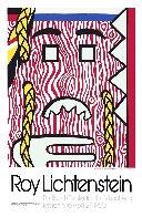 Head With Braids Exhibition Poster 1980 HS Limited Edition Print by Roy Lichtenstein - 0