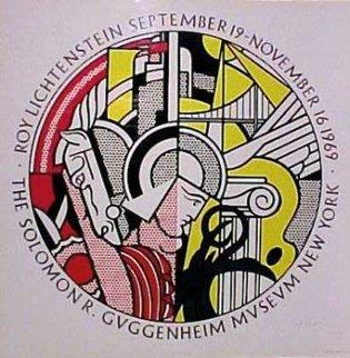 1969 Guggenheim Museum Poster Limited Edition Print by Roy Lichtenstein