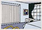 Bedroom 1991 Limited Edition Print - Roy Lichtenstein