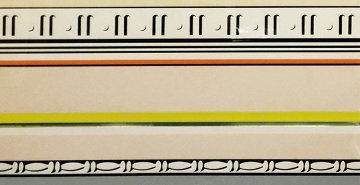 Entablature VIII 1976 Limited Edition Print - Roy Lichtenstein