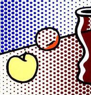 Still Life With Red Jar 1994 Limited Edition Print by Roy Lichtenstein - 0