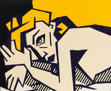 Reclining Nude 1980 Limited Edition Print - Roy Lichtenstein