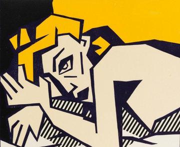 Reclining Nude 1980 Limited Edition Print - Roy Lichtenstein