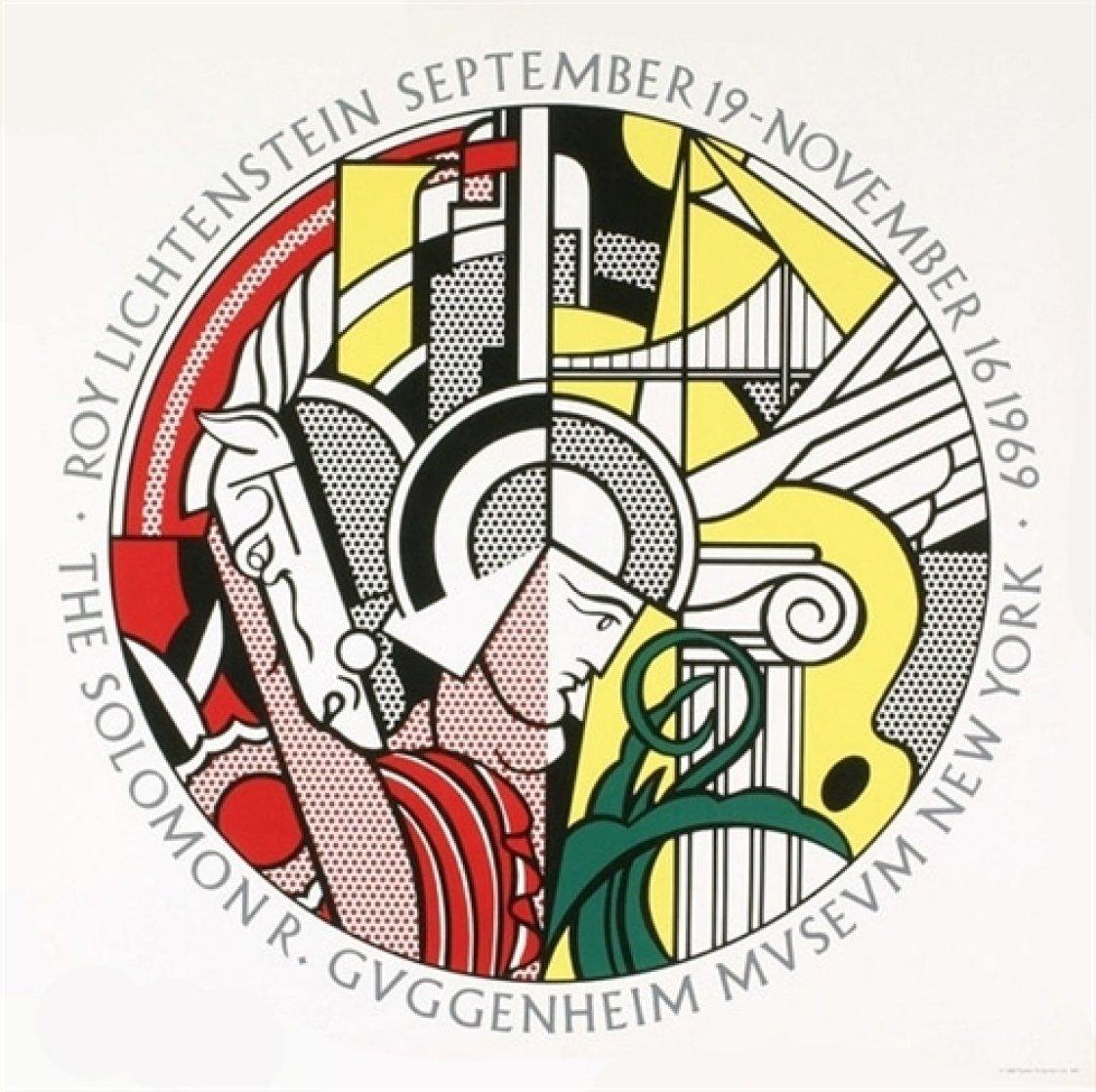 Solomon R. Guggenheim Museum 1969 Limited Edition Print by Roy Lichtenstein